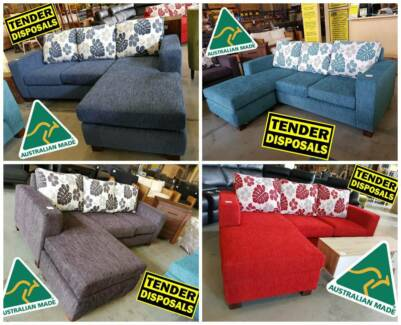 AUSTRALIAN MADE!! Reversible 2 seater chaise lounge 5 COLOURS