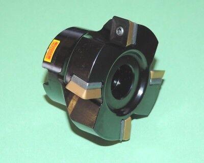 New Sandvik 2.500 Square Shoulder Milling Cutter W Inserts Ra290-063r19-12l