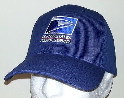 USPS EMBROIDERED BASEBALL CAP/ ADJUSTABLE/ AVAILBLE IN  7 COLORS /USPS LOGO1 HAT
