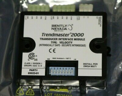 New Ge Bently Nevada Trendmaster 2000 Transducer Interface Module Velocity Pa1