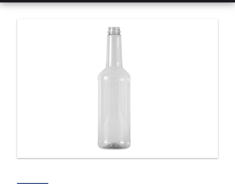 750ml Plastic Empty Bottles