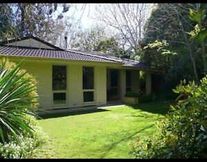 Crafers short term rental Crafers Adelaide Hills Preview