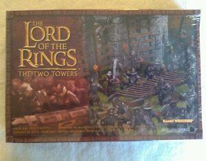 Games Workshop Lord of the Rings Strategy Battle Game Uruk Hai Siege Troops MIP