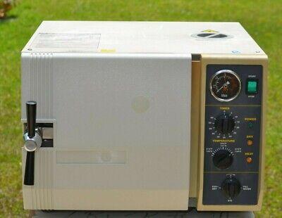 Tuttnauer 2540m Dental Tattoo Autoclave Steam Sterilizer For Instruments