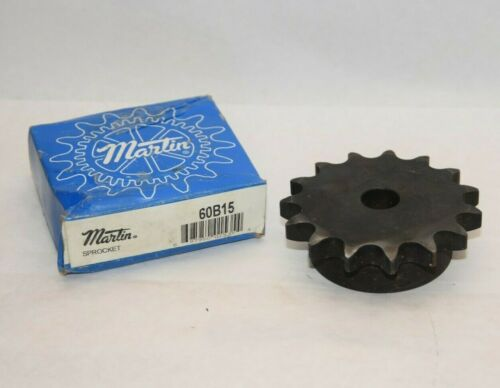 (NEW) MARTIN 60B15 15 Teeth Sprocket