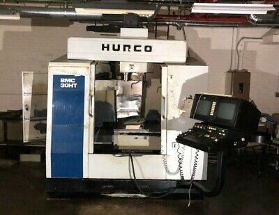 Hurco Bmc-30ht Cnc Verticle Milling Machine Center Bmc30htm
