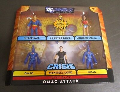 OMAC Attack 6 Pack DC UNIVERSE INFINITE HEROES CRISIS Gift Pack MIB](Stars Wars Gifts)