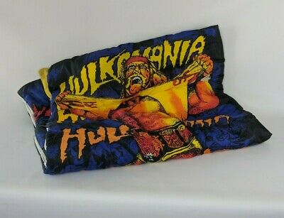 Hulk Hogan Hulkamania WWF 80's Vintage Kids Sleeping Slumber Bag