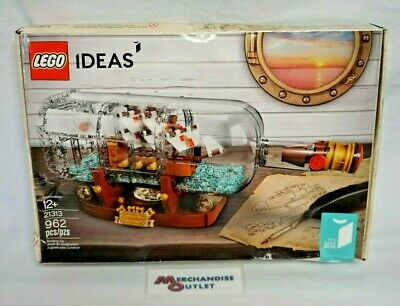 LEGO Ideas 2018 Ship in a Bottle (21313) (See Description)