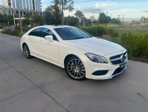2016 Mercedes-Benz CLS-Class C218 807MY CLS500 Coupe 9G-Tronic PLUS White 9 Speed Sports Automatic South Melbourne Port Phillip Preview