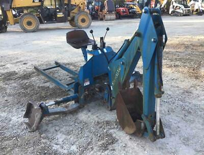 New Holland 7570 Hydraulic Backhoe Attachment Subframe Bucket Fits Ford 1715
