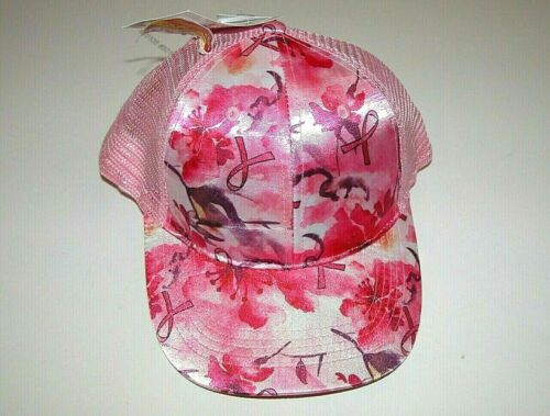 NEW NWT Pink Baseball Cap Hat BCRF Breast Cancer Research Foundation