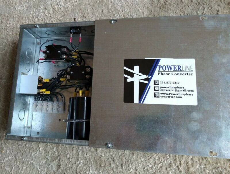 5 HP Rotary Phase Converter Panel