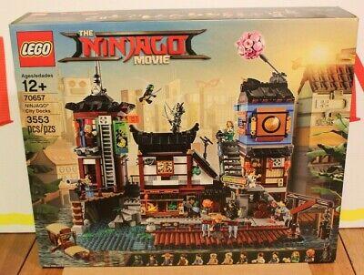LEGO 70657 NINJAGO City Docks Brand New Sealed Retired