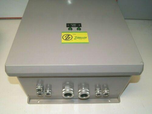 Zoeller 10-0397 Rev. B Control Panel 1-Phase Duplex Type 4X