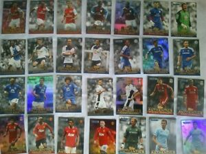 Topps Authentic Trading Cards (50 cards) Barclays Premier League 2011/12
