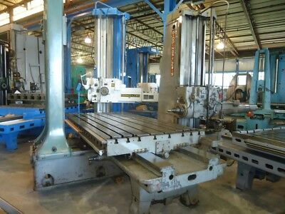 5 Giddings Lewis Horizontal Boring Mill 350t Gl Hbm 1952 Tailstock