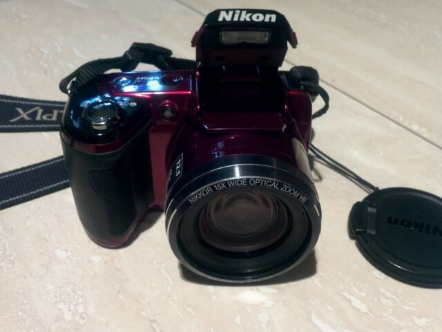 Nikon COOLPIX L110 12.1 MP Digital Camera - Red