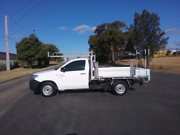 2010 Toyota Hilux WorkMate 2.7 Manual Adelaide CBD Adelaide City Preview