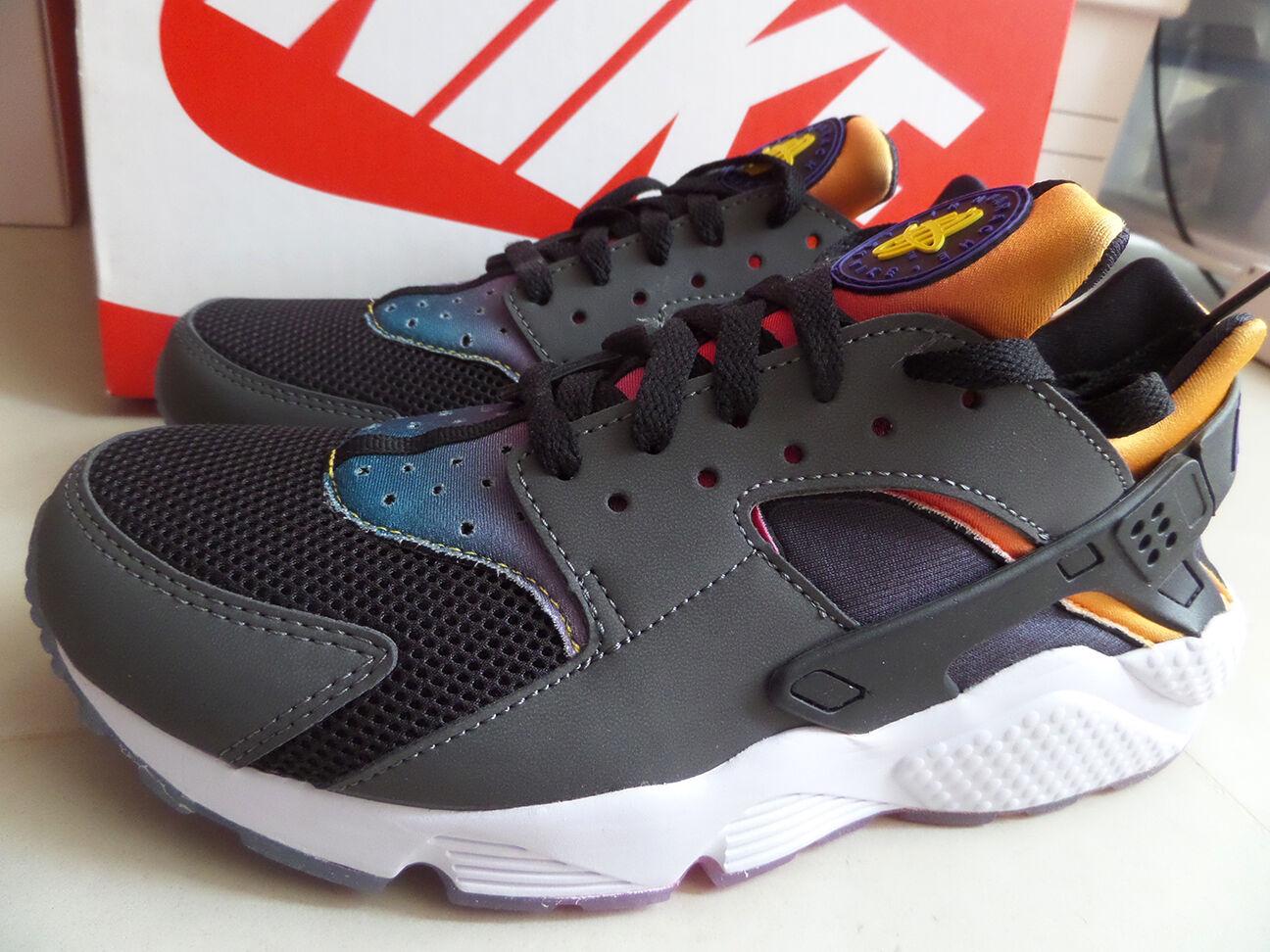 16e34f89743f Купить 100%Auth Nike Air Huarache Run SD Rainbow Black Violet Yellow ...