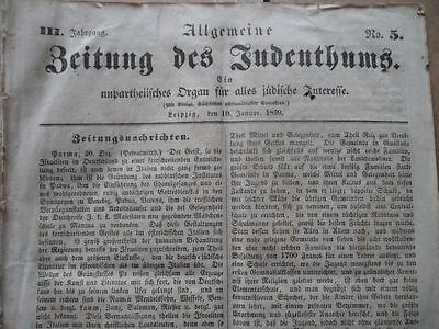 1839 Juden in Dresden Mendelsohns-Verein Klarinette Marokko