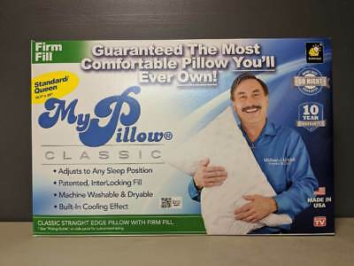 My Pillow Standard Queen Size Pillow   Firm Fill   Open Box With Tags