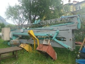Potain Gru Kran Cattaneo  CM 70 18.7 / 22 m/ drei Phase