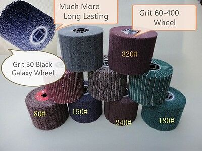 10 PIECES Wheel Non-woven stripping Burnishing wheel Machine fits Metabo