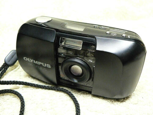 OLYMPUS Infinity STYLUS 35mm FILM Point & Shoot Compact Camera. Tested Working