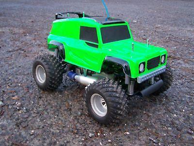 BOWLER WILDCAT 1:10 Land Rover body ABS Kamtec + Decal