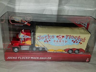 Disney Pixar Cars 3 Jocko Flocko's Party Supplies Mack Hauler 1:55 Scale 2017