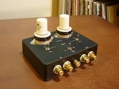4722 Moving Coil Phono Step Up Transformer MC SUT box incl. Beyer Transformers