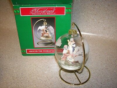 1993 Christmas Around The World Nativity Decoration - In original Box