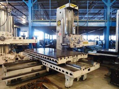 5 Giddings Lewis Horizontal Boring Mill 350t Gl Hbm 1976 60x120 Table