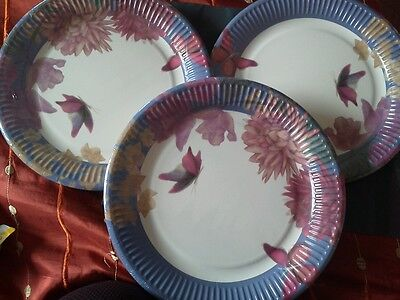 3 packs  of 8 PAPER PLATES - PARTY / TABLE WARE.New