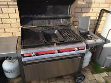 Rinnai Outdoor Kitchen BBQ with 2 Gas Bottles Jolimont Subiaco Area Preview