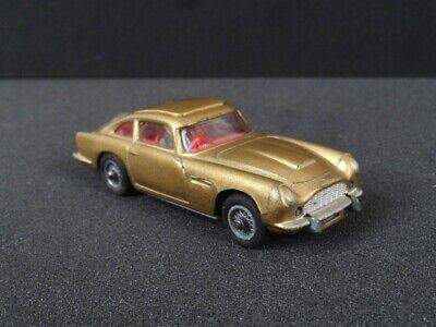 VINTAGE CORGI car ~ GOLD JAMES BOND 007 ASTON MARTIN DB 5 ~ 1:43 scale