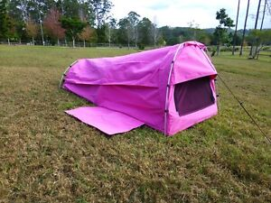 SHERPA EXPLORER-single dome swag in GREEN AND PINK - NEW Willow Vale Gold Coast North Preview