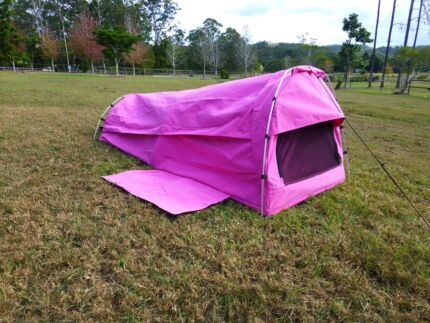 SHERPA EXPLORER-single dome swag in GREEN AND PINK - NEW