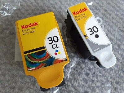 Used Kodak 8039745 30CL 30B Ink Cartridge Combo Pack Colour Black 390 335 Pages
