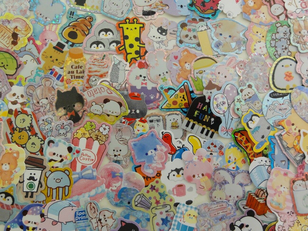 Lot 90 scrapbook sticker craft embellishment cute variety re