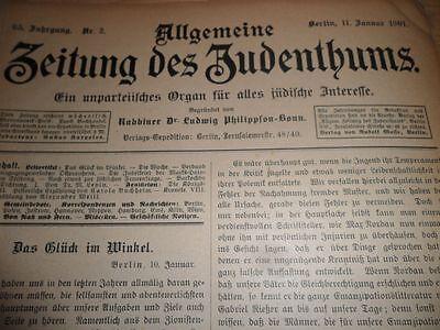 1901 Juden in Altona Pius Warburg Landau