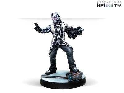 Infinity The Game Aleph ColdfrontDeva Unpainted