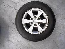 """GENUINE 4WD 16"""" Mitsubishi Triton OEM Wheels & Tyres (USED) HILUX Ferntree Gully Knox Area Preview"""