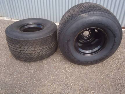 New Mickey Thompson  Sportsman 2 tyre and rims