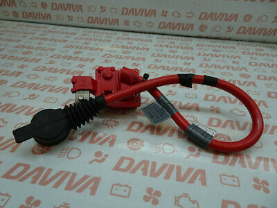 BMW 7 SERIES F01 2010 BATTERY PLUS POSITIVE WIRING HARNESS LOOM SAFETY MODULE