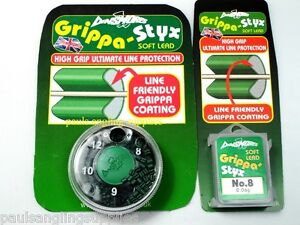 Dinsmores-Grippa-Styx-Coated-Line-Friendly-Fishing-shot-weights-pole-floats-shot