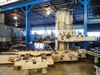 5 Giddings Lewis Horizontal Boring Mill 350t Gl Hbm 1961 60x120 Table