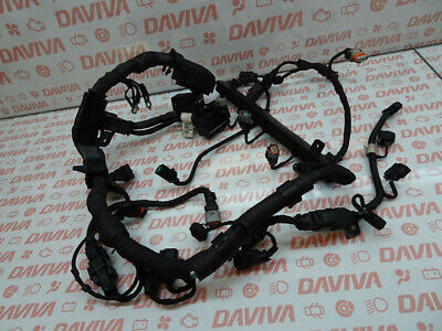 KIA CEED 2008 1.6 PETROL ENGINE G4FC INJECTORS COILS ECU WIRING HARNESS LOOM SET