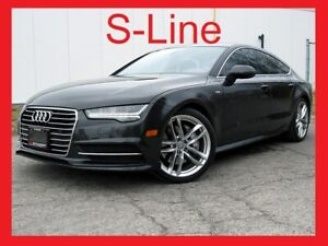 2016 Audi A7 S-LINE+LED LIGHT+LOADED+WARRANTY